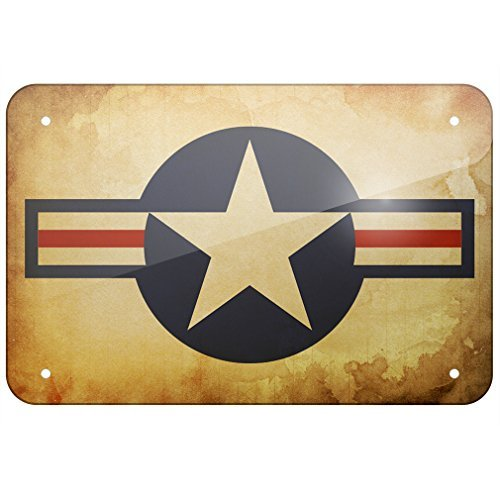 - ACOVE Aluminum Sign United States Air Force 8X12 Inch Decorative Tin Signs