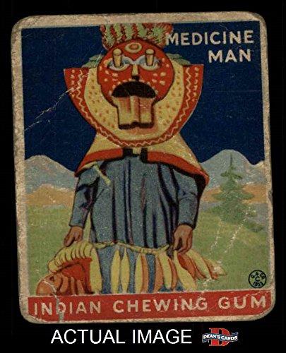 1933 Goudey Indian Gum # 106 Medicine Man (Card) Dean's Cards 1 - POOR - Gum Indian