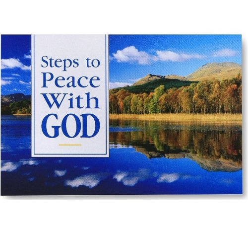 Steps to Peace with God: Scenic 25pk