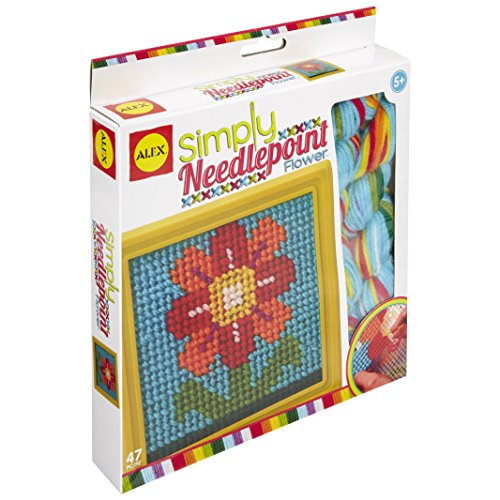 ALEX Toys Craft Simply Needlepoint Flower ()