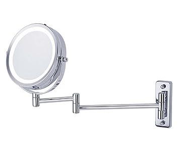Make Up Spiegel : Missing deer zoll wand make up spiegel mit led falten make up