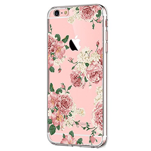 Case Compatible with iphone 6 6s/6plus 6splus TPU Soft Silicone Transparent Clear Back Cover (iphone 6plus 6s plus 5.5inch, Color 14) ()