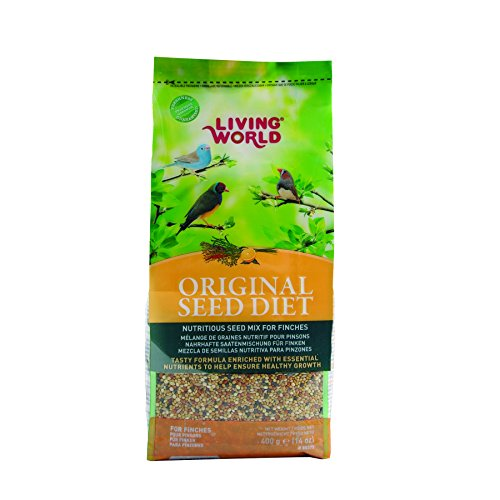 Living World 80375 Original Seed Diet for Finches, 400gm, 14-Ounce