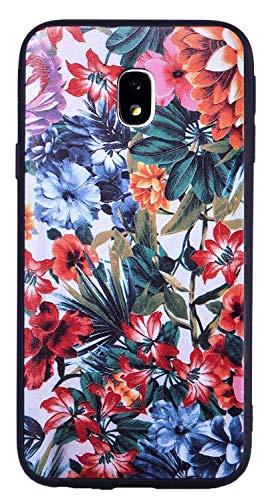 SHUNDA Funda Galaxy J3 2018, Pintado Funda Slim Thin Suave TPU Silicone Carcasa Choque Absorción Cubierta para Samsung...