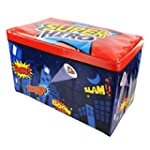 Kids Childrens Large Storage Toy Box...