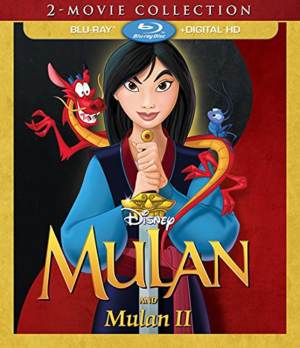 Blu-ray : Mulan / Mulan II: 2-Movie Collection (AC-3, Digitally Mastered in HD, Digital Theater System, , Dubbed)
