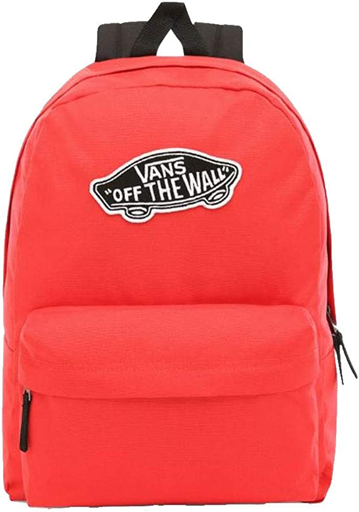 Vans Bright Poppy Red Realm Backpack