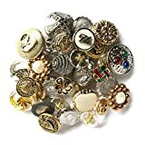Hagerdashery Gold and Silver Buttons