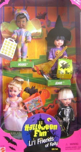 Barbie KELLY Halloween Fun Lil Friends of Kelly Gift Set - Target Special Edition (1998) by Mattel -