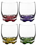 Vibrant Splash Water/Beverage Glasses, 9.75 Ounce – Set of 4 Review