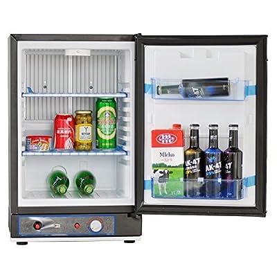 SMETA 110V/12V/Gas Portable Absorption Refrigerator RV Truck Cooler