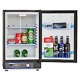 SMETA 12V Propane Refrigerator Truck Cooler No Noise AC/DC/Gas...
