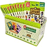 Animal Crossing Amiibo Cards Series 1 - Full box (18 Packs) (6 Cards Per Pack/108 Cards)