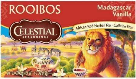 Tea Bags: Celestial Seasonings Rooibos