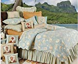 C&F Home Natural Shells Queen Size Quilt Set