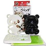 japanese bread mold - Japanese Bento Accessories Cute Baby Panda Shape Rice Mold & Seaweed Nori Cutter Set