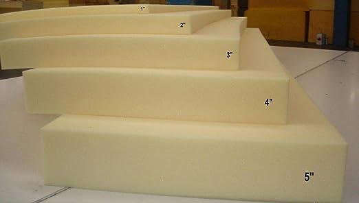 """MEDIUM FIRM 1536 FOAM SEAT CUSHION 5/""""x27/""""x80/"""" High Density-Foam Slabs"""