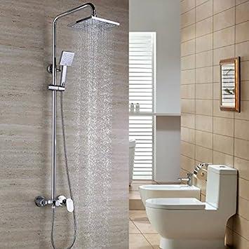 Moderne/zeitgemäße stilvollen Luxus Badezimmer Dusche Bad ...