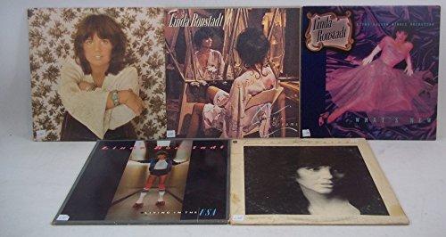 Linda Ronstadt Lot of 5 Vinyl Record Albums Heart Like a Wheel and more (Linda Ronstadt Heart Like A Wheel Vinyl)