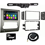 Otto Navi DVD GPS Navigation Multimedia Radio and Kit for Nissan Titan 2008-2012 with Back up camera and extra