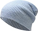 KBW-10 Sky Slouchy Beanie Baggy Style Skull Cap Winter Unisex Ski Hat