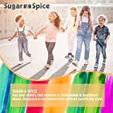 Sugar & Spice Fashion Canvas Sneakers, Girls Boys