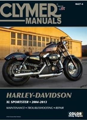 amazon com clymer repair manual m427 4 automotive rh amazon com 2016 harley davidson iron 883 service manual 2016 harley davidson iron 883 owners manual