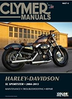 amazon com clymer harley davidson xl sportster 04 06 manual m427 rh amazon com softail owners manual pdf 2015 softail slim owners manual