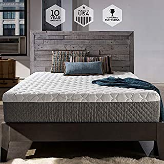 Sleep Innovations Taylor 12-inch Cooling Gel Memory Foam Mattress Bed in a Box, Made in the USA, 10-Year Warranty Twin Size (B00EZ5TB4C) | Amazon Products