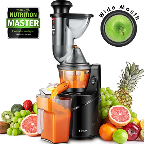 Aicok slow juicer is likely one of the fastest and easiest cold press machines in your funny juicing.