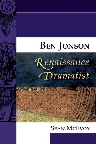 Ben Jonson, Renaissance Dramatist (Renaissance Dramatists EUP) pdf epub