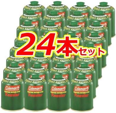 まとめ買い24個セット(2カートン) コールマン(Coleman) 純正LPガス燃料(Tタイプ)470g 5103A470T