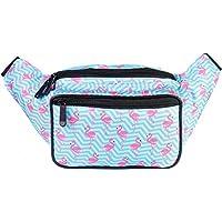 SoJourner Flamingo Fanny Pack - Cute Packs for men, women festivals raves   Waist Bag Fashion Belt Bags