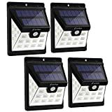 Cheap Solar Lights Outdoor, Zanflare 22 LED Motion Sensor Security Lights Solar Powered Wall Lights with 3 Lighting Modes for Garden, Outdoor, Fence, Patio, Deck, Yard, Home, Driveway, Stairs, Outside Wall
