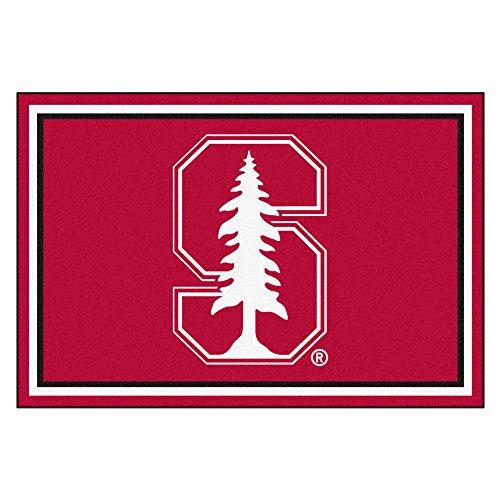 - FANMATS NCAA Stanford University Cardinal Nylon Face 5X8 Plush Rug