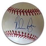 #8: Nolan Ryan Signed Autographed American League Baseball Rangers Angels JSA U76039