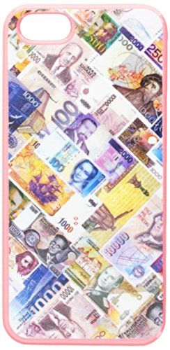 Graphics and More World Currency Money Bills Snap-On Hard Protective Case for iPhone 5/5s - Non-Retail Packaging - Pink