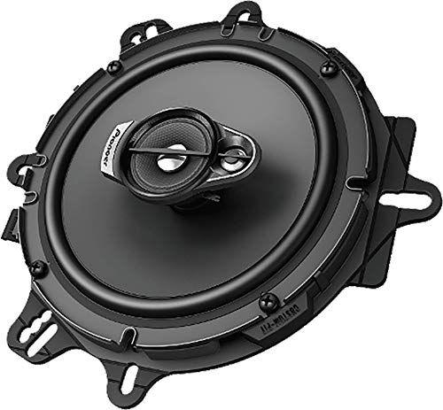 Pioneer TS-A1670F 3-Way 320 Watt A-Series Coaxial Car Speakers ()