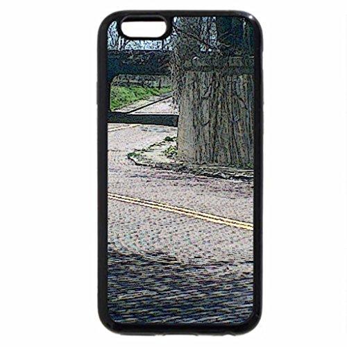 iPhone 6S / iPhone 6 Case (Black) Cobblestone Road