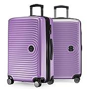 HAUPTSTADTKOFFER – Mitte – 2er Kofferset Trolley-Set + Zwei Koffergurte, Rollkoffer mit Dehnfalte 65cm, ABS, TSA…