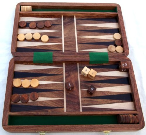 Backgammon-Set - fantastisches Strategie-Brettspiel