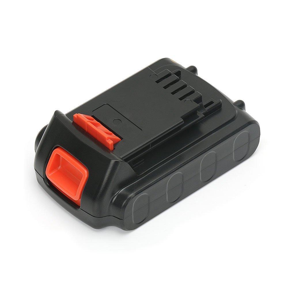 LBXR20 20V MAX 1.5Ah Lithium Ion Replacement Battery for Black and Decker LBXR20 LBXR20-OPE LB20 LBX20 LBX4020 LB2X4020-OPE Firestorm Black & Decker 20-Volt Battery by REEXBON