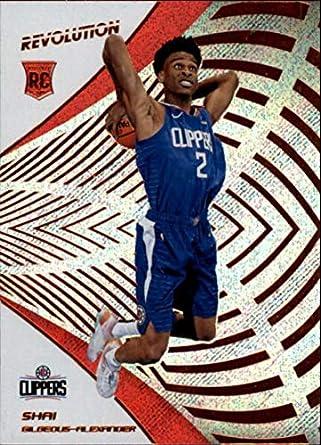 2018-19 Revolution Basketball  103 Shai Gilgeous-Alexander RC Los Angeles  Clippers Rookie c4bc51e8b