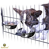 2 Stainless Steel Bowl for Pets by SunGrow: - Best Reviews Guide