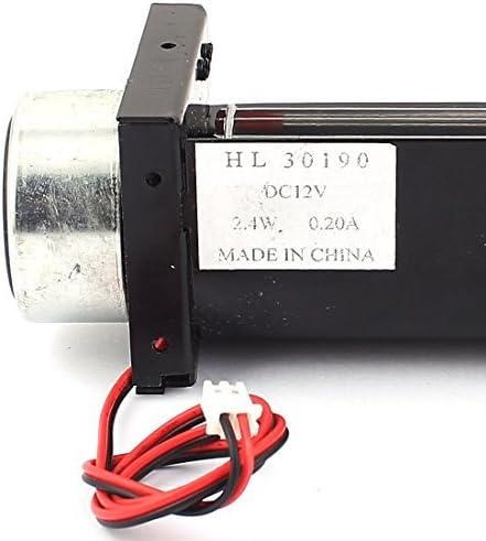 NA DC 12V 0.2A Cross Flow Cooling Fan Cool Turbo 30x190mm Heat Amplifier