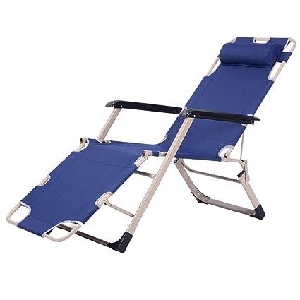 Amazon.com: Sillón reclinable con tumbona para playa, cama ...