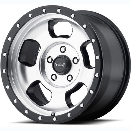American Racing AR969 Ansen Off Road Wheel with Machined Fin