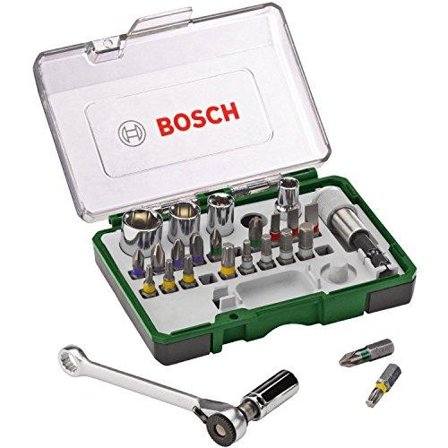 Bosch 2607017160 Screwdriver-/RATCHET Set 27 Pcs