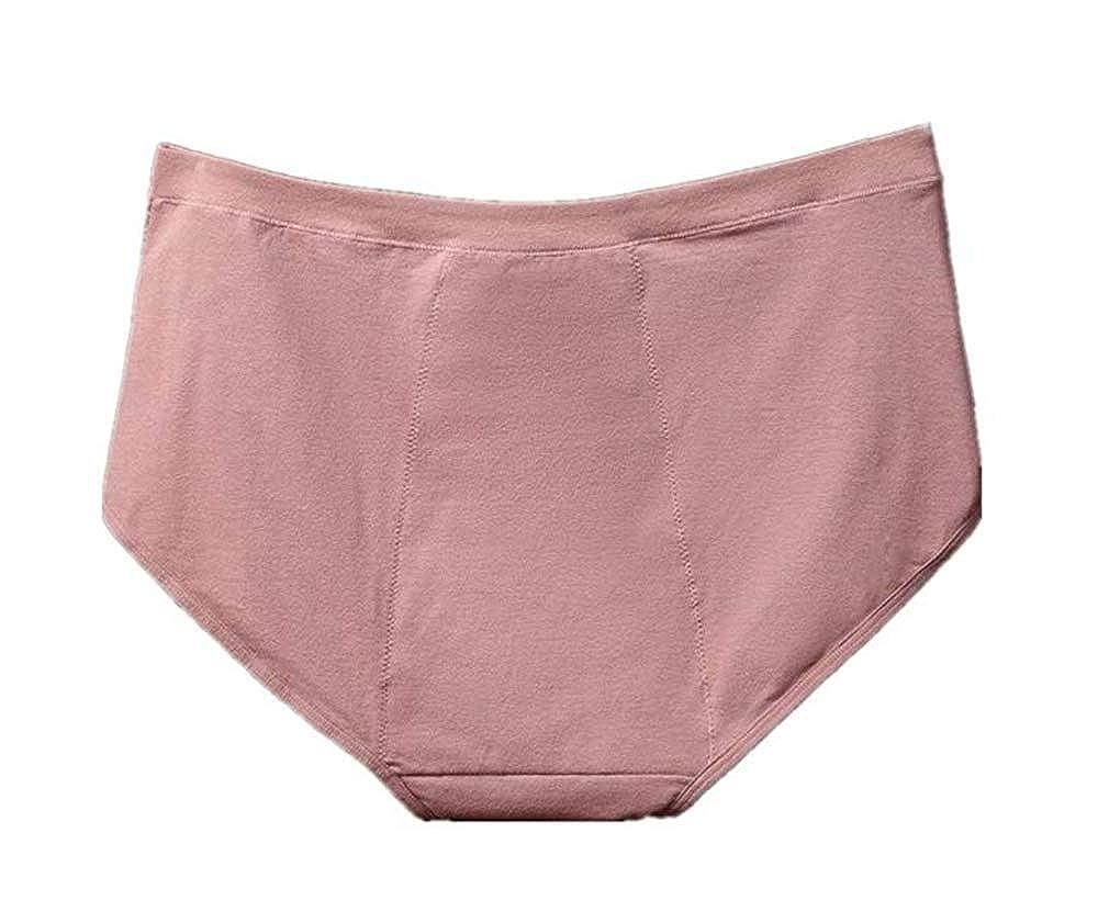 Jinglun Showtime Plus Size Women Menstrual Period Leakproof Panties Postpartum Bleeding Underwear 3 Pack