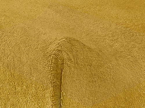 Jollein 550-503-65316 Housse de Matelas /à Langer Bouclette 50 x 70 cm Couleur Moutarde